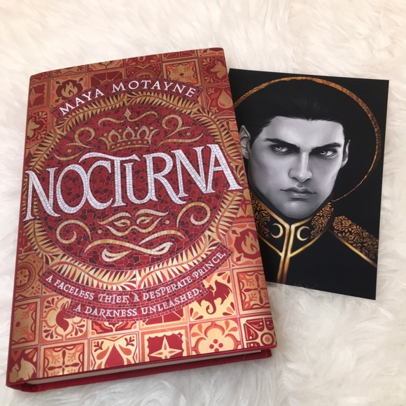Nocturna by Maya Motayne book